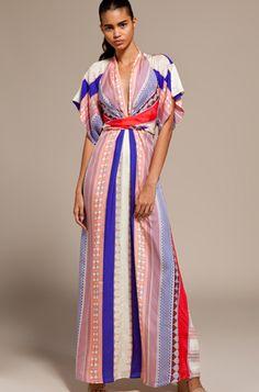 kimono dress - dress- kimono dress- kara janx- project runway ...