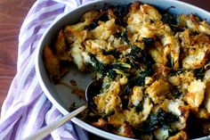 kale and caramelized onion stuffing