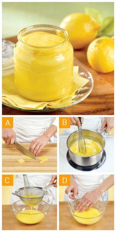 Comment réussir une crème de #citron en 4 étapes simples!