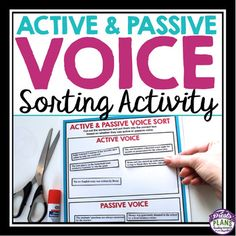 difference between active and passive voice pdf