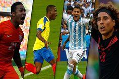 Los jugadores más valorizados durante el Mundial