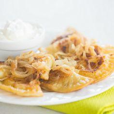 Homemade Pierogi Recipe | Brown Eyed Baker.  Comfort food.  So perfect.
