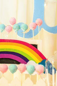Cake pops from a My Little Pony Birthday Party on Kara's Party Ideas   KarasPartyIdeas.com (25)