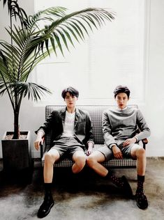 EXO Chanyeol and Sehun - Ceci Magazine Korea, China, and Thailand August Issue…