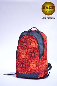 Shweshwe backpack Ankara Bags, Printed Bags, Purses And Bags, African, Wisdom, Backpacks, Pearls, Trends, Carpet