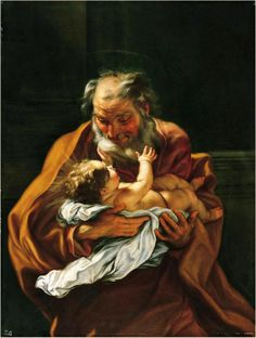 Giovanni Battista Gaulli: san José y el Niño.