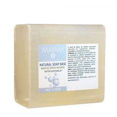O bază de săpun de calitate superioară, fabricată din ingrediente vegetale, îmbogățită cu substanțe hidratante și catifelante. Din această bază se pot prepara săpunuri personalizate, foarte ușor și rapid.
