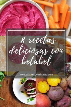 8 recetas deliciosas y nutritivas con betabel. Salads, Vegan Recipes, Menu, Tasty, Lunch, Cooking, Healthy, 3, Food Ideas