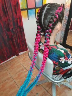 What I want for my birthday # feed in festival Braids Hair,braids, Hair extensions, braided hair,colorfull hair # feed in festival Braids Boxer Braids Hairstyles, Shaved Side Hairstyles, Braided Hairstyles, French Braids With Extensions, Hair Extensions, Cornrows For Little Girls, Yarn Braids, Long Braids, Braids With Shaved Sides