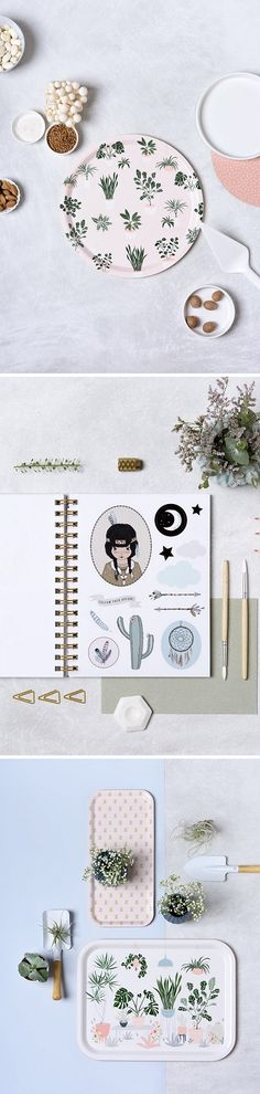 Illustrated items by Micush