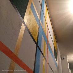 Mural at Maccheroni - Under the lights...