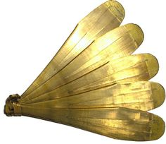 A Kouxian, a plucked idiophone (A Chinese brass musical instrument.)