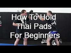 5 Ways To Hold Thai Pads for Beginners. Lead coaches Ryan Murray and John Arrends demonstrates how to hold properly.  The Academy, MN.  http://teamacademynews.com/ http:// The Academy. Formally Minnesota Martial Arts. Brooklyn Center Minnesota.  http://www.theacademymn.com/ @mmaacombatzone Muay Thai