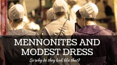 I find Marie's series about the lives of the Mennonite and Amish to be absolutely fascinating.