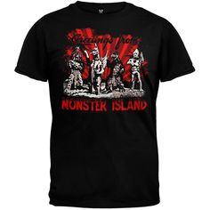 Godzilla - Monster Island Soft T-Shirt