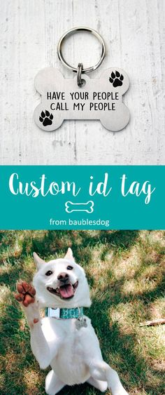 bone paw Dog Tag, Customized Pet ID Tag Name Tags, custom two-sides tag, dog tag, id tag for dogs, id tag for cat, dog lover gift, Customized Pet ID Tag, dog collar, id tag design, id tag diy, keep calm and call my mom, have your people call my people