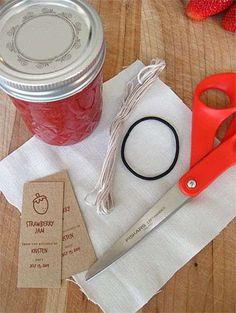 Copri vasetto in stoffa fai da te - Occorrente per creare un copri vasetto