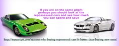In the US there are tons of repossessed cars in the auction shops or via private sellers, like the toptipcars. There could be a lot of reasons why such vehicles are repossessed but it all boils down to financial reasons in most cases. For More Information about Repossessed Cars, please check http://topcartips.com/reasons-why-buying-repossessed-cars-is-better-than-buying-new-ones/