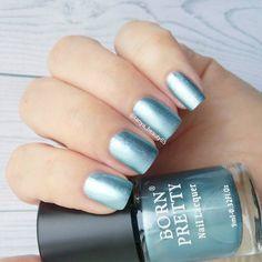 Metallic Nail Lacquer https://www.instagram.com/p/BVKH5d8FCnU/ http://www.bornprettystore.com/born-pretty-metallic-nail-lacquer-mirror-effect-metal-rose-gold-silver-nail-polish-varnish-p-39763.html