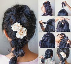 how to fake a gorgeous braid