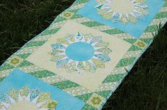The Sew We Quilt Dresden Blog Hop in my Bella Seaglass color story for Blend Fabrics