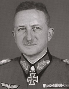 Axis leaders - Heinrich Otto Ernst von Knobelsdorff (31 March 1886 – 21 October 1966) was a German general who commanded armored Panzer units and served during World War II.  During the war, he was defeated by American forces under General George S. Patton at the Battle of Metz.