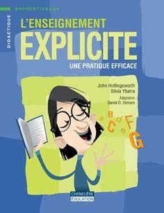 L'enseignement explicite, une pratique efficace