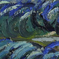 Incredibly Detailed Close-Ups of Van Gogh's Masterpieces  the-starry-night-vincent-van-gogh-close-up-6