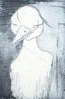 Anja Cecilie Solvik -  Silent bird Fine Art, Bird, Birds, Visual Arts, Figurative Art