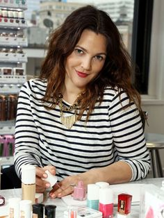 Drew Barrymore Spills Her Beauty Secrets