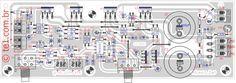 amplificador tda2030 2 1 subwoofer pcb 700x248 Amplificador de áudio Com Subwoofer 2.1 TDA2030 NE5532 circuito audio circuito circuito amplificador