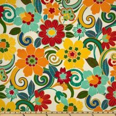 54'' Wide Swavelle/Mill Creek Indoor/Outdoor Rollingmeade Cosmo Fabric By The Yard: Arts, Crafts & Sewing