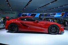 Toyota FT-1 Concept at Detroit Auto Show