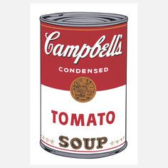 Warhol—Campbell's Soup I, $40, now featured on Fab.