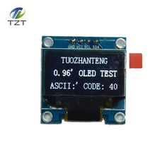 De color blanco 0.96 pulgadas 128X64 Módulo de Pantalla OLED Para arduino 0.96 CII SPI Comunicarse