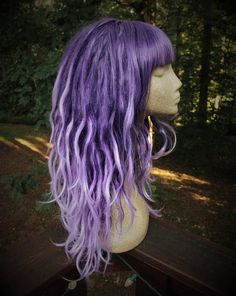 Hey, I found this really awesome Etsy listing at https://www.etsy.com/listing/534998398/purple-fade-synthetic-dreadlock-wig