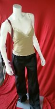 VTG 80's NORTH BOUND LEATHER REAL Skinny Pipe High Waist Pants sz.28 MED