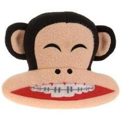 Paul Frank Braced Teeth Julius Jacket Zipper Pull Charm