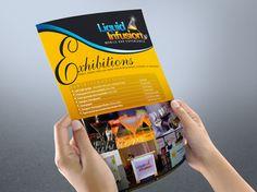 Flyer design for exhibitions. Banner Design, Flyer Design, Typography Magazine, Make A Flyer, Flyer Printing, Custom Flyers, Website Design Layout, Secret Gardens, Promote Your Business