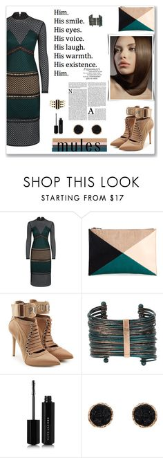 """Untitled #109"" by azbie ❤ liked on Polyvore featuring self-portrait, Sole Society, Puma, Boutique+, Marc Jacobs, Humble Chic and Noir Jewelry"
