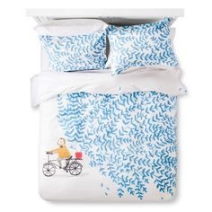 Artwork Series: 'Marcovaldo' by Marianna Coppo Duvet Cover Set (Twin/Twin Extra Long) Multicolor - AiR,