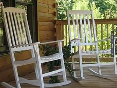 Yes - front porch rocking chairs | CHECK OUT MORE PORCH AND SCREEN DOOR IDEAS AT DECOPINS.COM | #porch #porches #screendoor #screendoors #outside #exterior #homedecor #porching