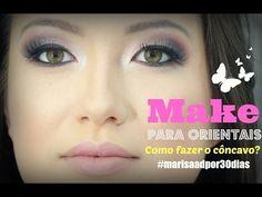 Maquiagem para Japonesa por Mariana Saad