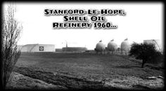 Stanford-Le-Hope, Shell Oil Refinery c.1960