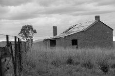 deserted house near Lake Glenmaggi