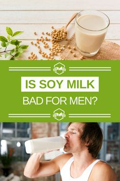 Vegan Liftz Ideas:  Is Soy Milk Bad for Men? The Side Effects on Testosterone Levels - You may have heard that consuming soy can be dangerous for males, giving them fertility issues and problems with their sexual reproductive system. However, it seems that some experts are not convinced, holding soy up as a healthy vegan protein source which is vital to men's health when coupled with general healthy eating. #vegan #vegane #veganhealth #veganlife #veganlifestyle #vegannews #vegans #veganuk