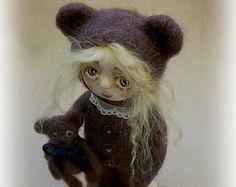 Miniature teddy bear | Etsy