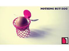 ED printed basketball hoop egg cup Egg Holder, Egg Cups, 3d Printing, Eggs, Prints, Basketball Hoop, Projects, Stuff To Buy, Inspiration