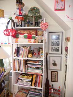 Mary Engelbreit's home studio.