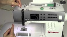 Ever wonder what all comes with the new Bernina walking foot? See all its included accessories, extra sole plates, how to use them and how to attach walking . Quilting Tutorials, Sewing Tutorials, Sewing Projects, Video Tutorials, Sewing Patterns, My Sewing Room, Love Sewing, Bernina 330, Sewing Machine Parts